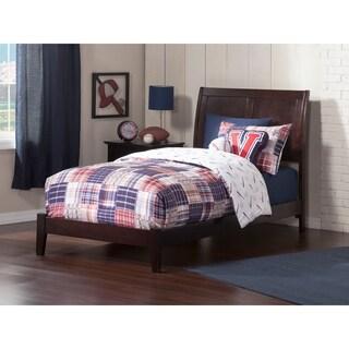 Portland Twin XL Traditional Bed in Espresso