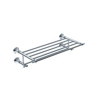 Premium Chrome Towel Shelf