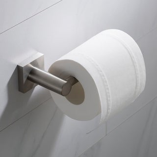 KRAUS Ventus KEA-17729 Bathroom Toilet Paper Holder in Chrome, Brushed Nickel, Matte Black Finish