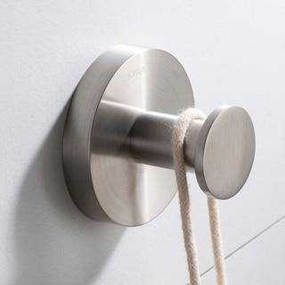 KRAUS Elie KEA-18801 Bathroom Robe and Towel Hook in Chrome, Brushed Nickel, Matte Black Finish