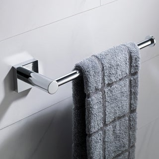 KRAUS Ventus KEA-17725 Bathroom Towel Bar in Chrome, Brushed Nickel, Matte Black Finish