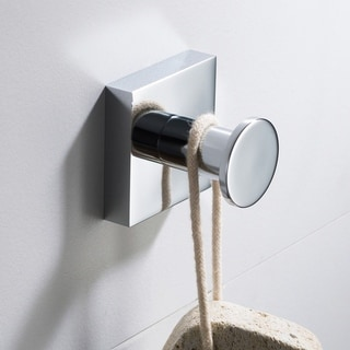 KRAUS Ventus KEA-17701 Bathroom Robe and Towel Hook in Chrome, Brushed Nickel, Matte Black Finish