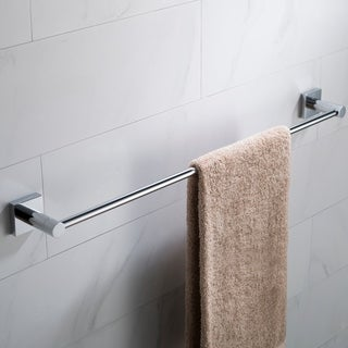 KRAUS Ventus KEA-17737 24-inch Bathroom Towel Bar in Chrome, Brushed Nickel, Matte Black Finish