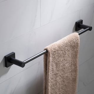 Kraus Ventus Kea 17736 18 Inch Bathroom Towel Bar In Chrome Brushed Nickel