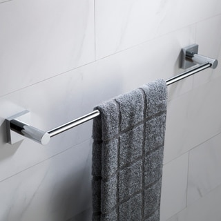 KRAUS Ventus KEA-17736 18-inch Bathroom Towel Bar in Chrome, Brushed Nickel, Matte Black Finish