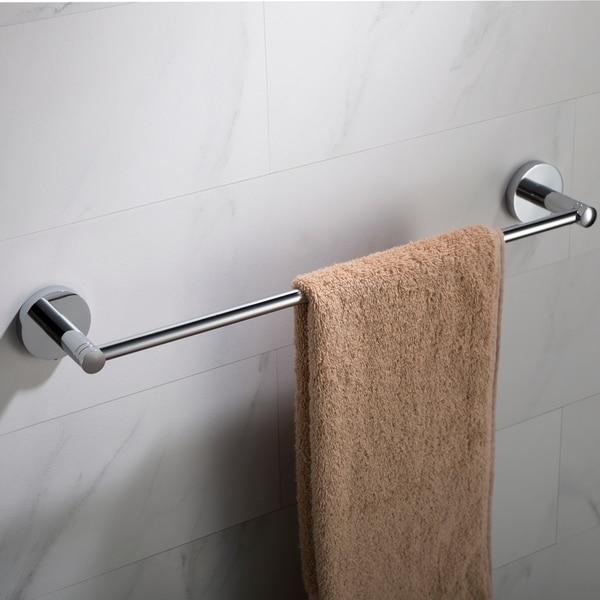 KRAUS Elie KEA-18836 18-inch Bathroom Towel Bar in Chrome, Brushed Nickel, Matte Black Finish