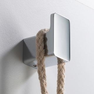 KRAUS Stelios KEA-19901 Bathroom Robe and Towel Hook in Chrome, Brushed Nickel, Matte Black Finish