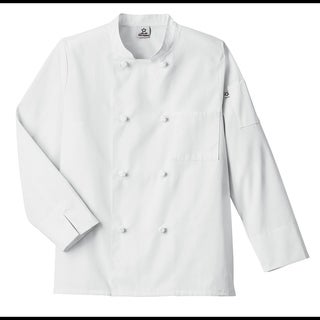 5 Star Unisex Knot Button Chef Coat