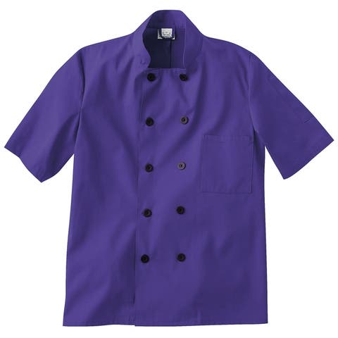 5 Star Short Sleeve Chef Jacket