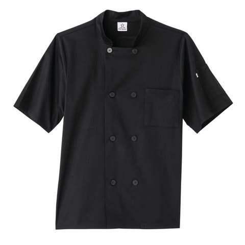 5 Star Short Sleeve Unisex Executive Chef Coat