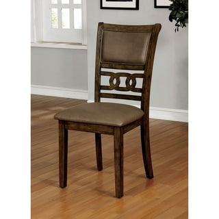 Link to Copper Grove Senovo Satin Walnut Dining Chair (Set of 2) Similar Items in Dining Room & Bar Furniture