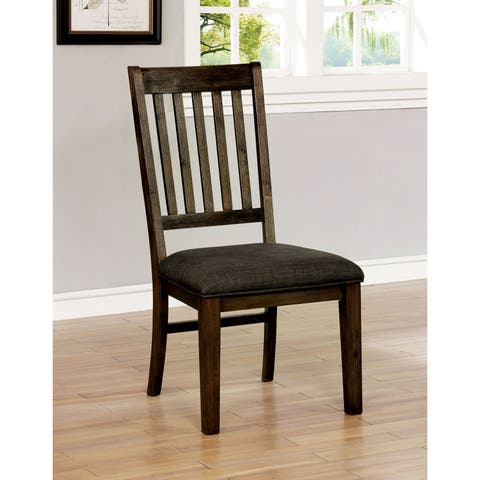 Copper Grove Alfatar Rustic Dining Chairs (Set of 2)