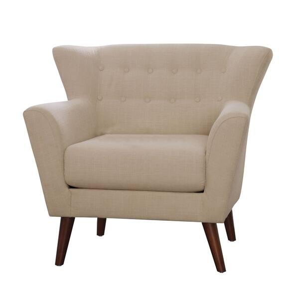 Cool Shop Carson Carrington Svelgen Modern Beige Accent Chair Cjindustries Chair Design For Home Cjindustriesco