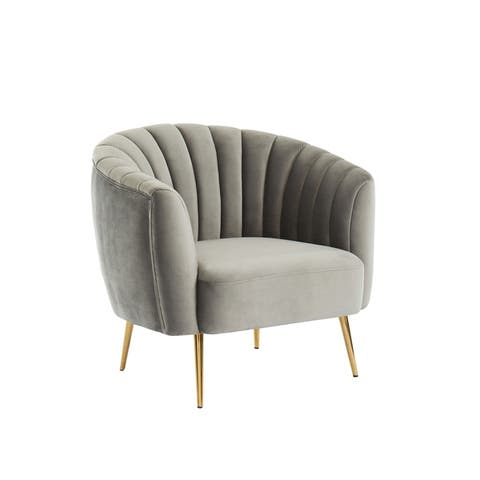 Silver Orchid Albany Accent Chair
