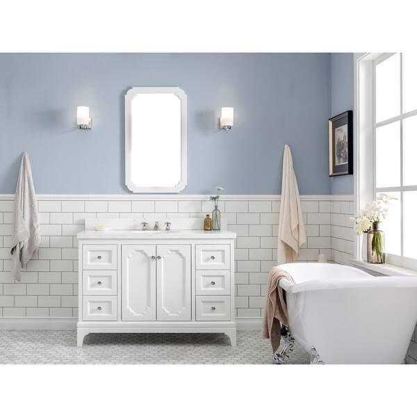 Quartz Carrara Bathroom Vanity