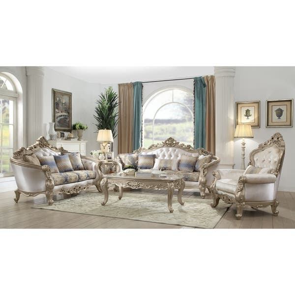 Sensational Shop Acme Gorsedd Sofa With 5 Pillows In Cream Fabric And Squirreltailoven Fun Painted Chair Ideas Images Squirreltailovenorg