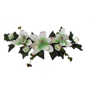 """16"""" long Silk magnolia swag"""