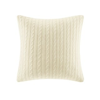 Woolrich Buckley Cable Knit Euro Sham 2-Color Option
