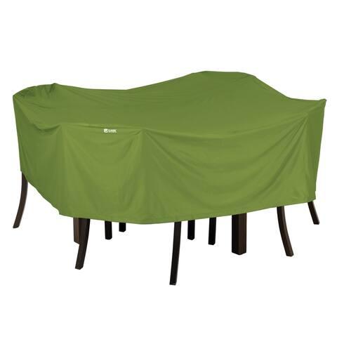 Classic Accessories SODO Plus Square Patio Table & Chair Set Cover