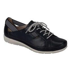 Women's Remonte Malea 17 Sneaker Black/Black-White Leather