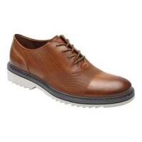 Men's Rockport Jaxson Bal Cap Toe Oxford Tan Leather