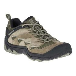 Men's Merrell Chameleon 7 Limit Hiking Shoe Dusty Olive Suede/Mesh