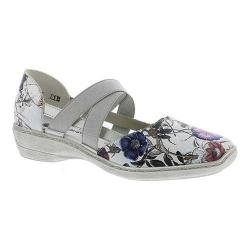Women's Remonte Doris 47 Mary Jane Off White-Metallic/Silver/Steel Leather (More options available)