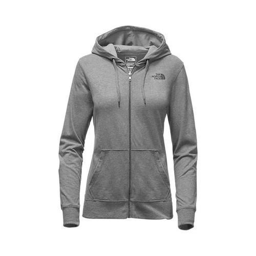 1b95c807cdb0 Shop Women s The North Face Lightweight Tri-Blend Full Zip Hoodie TNF  Medium Grey Heather Asphalt Grey - Free Shipping Today - Overstock -  20618595
