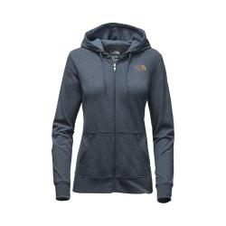 Women's The North Face Lightweight Tri-Blend Full Zip Hoodie Blue Wing Teal Heather/Olivenite Yellow