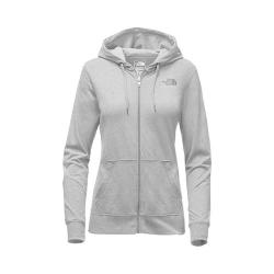 Women's The North Face Lightweight Tri-Blend Full Zip Hoodie TNF Medium Grey Heather/Asphalt Grey