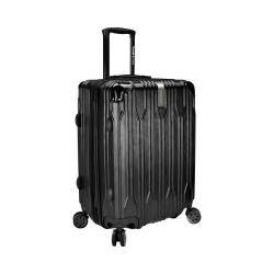 Traveler's Choice Bell Weather Expandable 24in Spinner Black