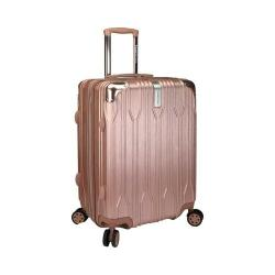 Traveler's Choice Bell Weather Expandable 24in Spinner Rose Gold