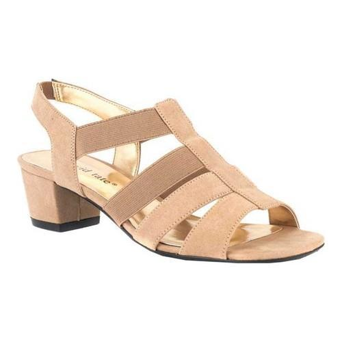 c593ef99dc61 Shop Women s David Tate Delight Strappy Sandal Taupe Nova Suede - On Sale -  Free Shipping Today - Overstock.com - 20646179