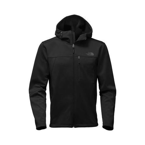 8b6c2ed6b35c Shop Men s The North Face Apex Canyonwall Hybrid Hoodie TNF Black TNF Black  - Free Shipping Today - Overstock - 20647275