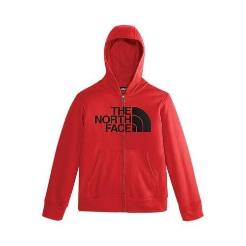 f9333f196 Boys' The North Face Logowear Full Zip Hoodie TNF Red