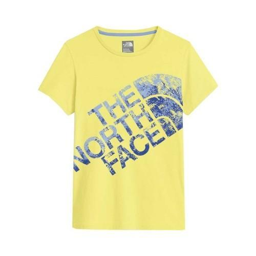 c632cb17f Girls' The North Face Short Sleeve Graphic Tee Stinger Yellow