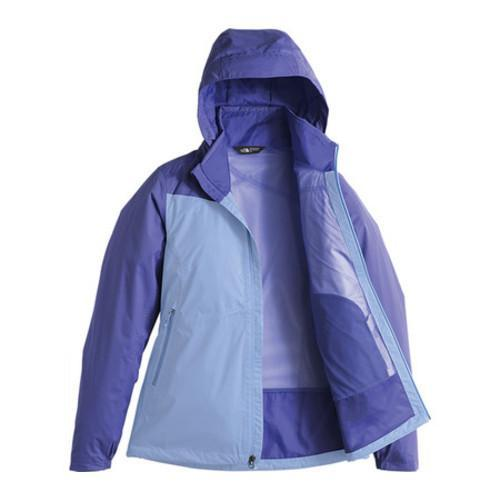 ad7dc437e867c ... Thumbnail Women  x27 s The North Face Resolve Plus Jacket Collar  Blue Stellar
