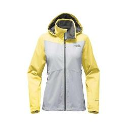 b473716ab Women's The North Face Resolve Plus Jacket High Rise Grey/Stinger Yellow |  Overstock.com Shopping - The Best Deals on Jackets