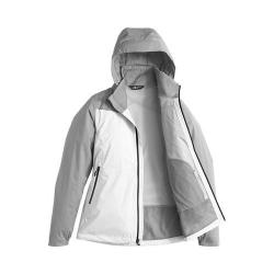 Women's The North Face Resolve Plus Jacket TNF White/Mid Grey Dobby
