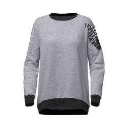 Women's The North Face Train N Logo Pullover TNF Light Grey Heather