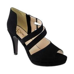 Women's Beacon Shoes Fiona Heel Black Lamy Polyurethane