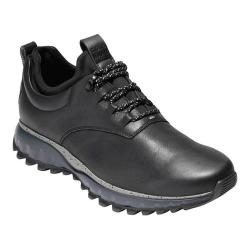 Men's Cole Haan Grand Explore All-Terrain WP Oxford Black Leather/Ironstone/Magnet