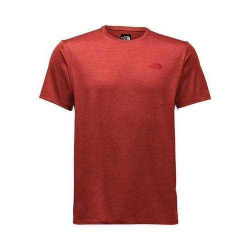 e7945629e5ac9 Shop Men s The North Face Hyperlayer FD Short Sleeve Crew High Risk Red  Heather - Free Shipping On Orders Over  45 - Overstock.com - 20671355