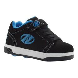Children's Heelys Dual Up X2 Black/Cyan/White