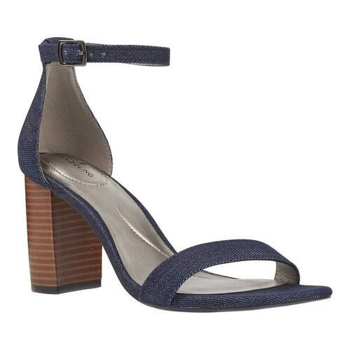 b2287b04c9c Shop Women s Bandolino Armory Ankle Strap Sandal Denim Spring Denim - On  Sale - Free Shipping On Orders Over  45 - Overstock.com - 20680544
