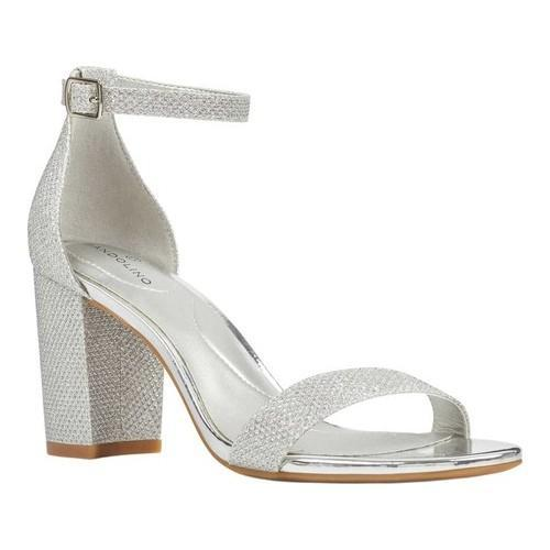 2938834f9cd Shop Women s Bandolino Armory Ankle Strap Sandal Silver Nu Glamour - Free  Shipping Today - Overstock - 20680547
