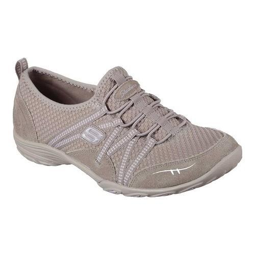 Skechers Empress Womens Slip On Sneakers Taupe 7.5 Zl46sxyCkL