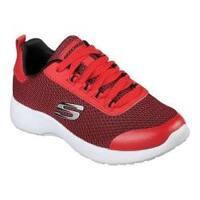 Boys' Skechers Dynamight Turbo Dash Sneaker Red/Black