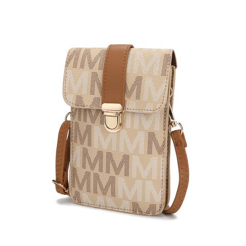 MKF Collection Lulu M Signature Phone Crossbody Bag by Mia K.
