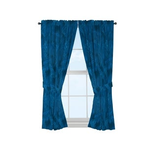 Marvel Spiderman Classic Graphic Blue 63-inch Decorative Curtain Set